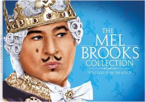 portada de la colección de películas de Mel Brooks