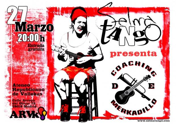 concierto Selma tango en Ateneo Republicano